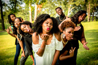 Rice Bridal Party Shoot